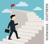 stairway to success illustration