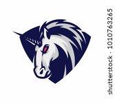 animal head   unicorn   vector...   Shutterstock .eps vector #1010763265
