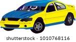 speedway racing car vector | Shutterstock .eps vector #1010768116