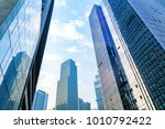 the skyscraper is in chongqing  ... | Shutterstock . vector #1010792422