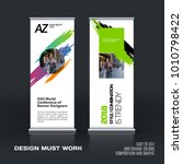 business vector set of modern...   Shutterstock .eps vector #1010798422