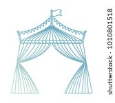 circus tent icon image | Shutterstock .eps vector #1010801518