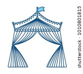 circus tent icon image | Shutterstock .eps vector #1010801815