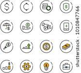 line vector icon set   dollar...   Shutterstock .eps vector #1010847766