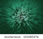 Abstract binary code background - stock photo