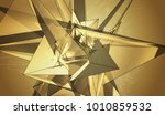 bright gold illustration with... | Shutterstock . vector #1010859532