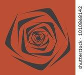 rose. vector flower. beautiful...   Shutterstock .eps vector #1010868142