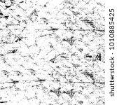 grunge black and white pattern. ... | Shutterstock . vector #1010885425