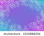 cleaning foam on gradient... | Shutterstock .eps vector #1010888356
