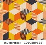 geometric seamless pattern... | Shutterstock .eps vector #1010889898