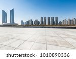 panoramic skyline and buildings ... | Shutterstock . vector #1010890336