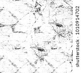 grunge black and white pattern. ... | Shutterstock . vector #1010914702