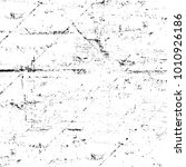 grunge black and white pattern. ... | Shutterstock . vector #1010926186