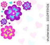 vector illustration valentines ... | Shutterstock .eps vector #1010955436