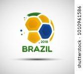 football championship banner.... | Shutterstock .eps vector #1010961586