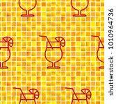 pattern. background texture.... | Shutterstock .eps vector #1010964736