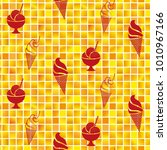 pattern. background texture.... | Shutterstock .eps vector #1010967166