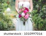 wedding flower bouquet | Shutterstock . vector #1010997016