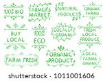 set of typographic elements.... | Shutterstock . vector #1011001606