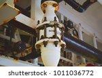 flame arrestor. black white... | Shutterstock . vector #1011036772