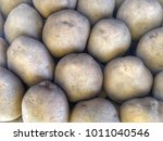 potato in  market   Shutterstock . vector #1011040546