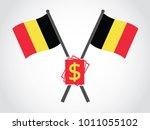 belgium emblem dollar bill