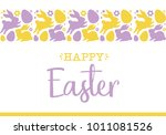 """happy easter"" greeting card... 