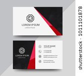visiting card  business card... | Shutterstock .eps vector #1011101878