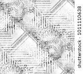 seamless pattern tartan design. ... | Shutterstock . vector #1011110638