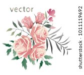 vector illustration of branch... | Shutterstock .eps vector #1011119692