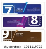 vector abstract design banner... | Shutterstock .eps vector #1011119722
