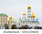 churches of moscow kremlin in... | Shutterstock . vector #1011124642
