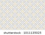 colorful striped horizontal... | Shutterstock . vector #1011135025