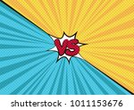 fight backgrounds comics style... | Shutterstock .eps vector #1011153676