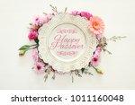 pesah celebration concept ...   Shutterstock . vector #1011160048