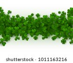 saint patrick's day border with ...   Shutterstock .eps vector #1011163216