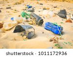 pollution concept with detail... | Shutterstock . vector #1011172936