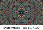 abstract islamic pattern in... | Shutterstock . vector #1011174622