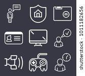 business outline vector icon... | Shutterstock .eps vector #1011182656