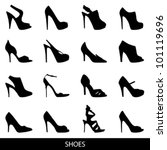 shoes | Shutterstock .eps vector #101119696