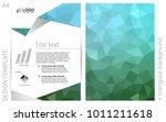 light blue  green vector  cover ...