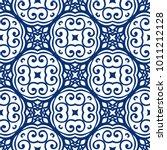 vector arabesque pattern.... | Shutterstock .eps vector #1011212128