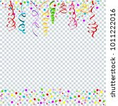 serpentine on transparent... | Shutterstock .eps vector #1011222016