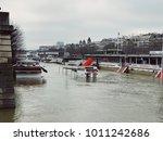 paris  france   january 27 ... | Shutterstock . vector #1011242686