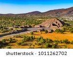 mexico. pre hispanic city of... | Shutterstock . vector #1011262702