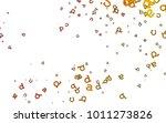 light yellow  orange vector...   Shutterstock .eps vector #1011273826