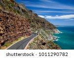 chapman's peak drive near cape... | Shutterstock . vector #1011290782