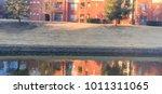 typical riverside apartment...   Shutterstock . vector #1011311065