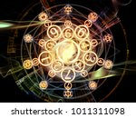 numeric connection series.... | Shutterstock . vector #1011311098