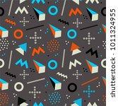 geometric pattern  fashion...   Shutterstock .eps vector #1011324955